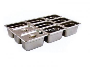 NINTH SIZE GN PAN WITH STACKING RECESS