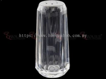 ACRYLIC DIAMOND SHAPE PEPPER SHAKER