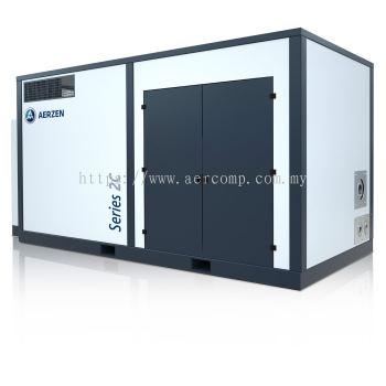 OIL-FREE SCREW COMPRESSOR UNITS POSITIVE PRESSURE 2C8W -> MAX. 870 M3/H