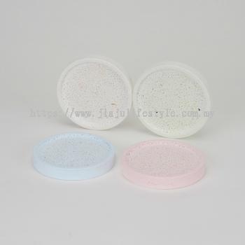 Diatomite Soap Dish (Round)