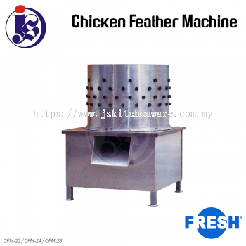 FRESH Chicken Feather Machine CFM-22 / CFM-24 / CFM-26