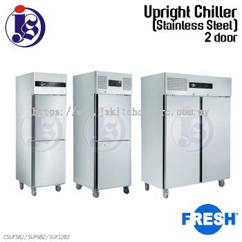 FRESH 2 Door Chiller (Stainless Steel) CSUF5B2 / SUF6B2 / SUF12B2