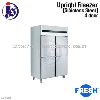 FRESH 4 Door Freezer (Stainless Steel) CSUF10A4