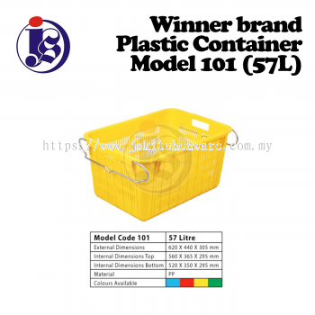 Winner Plastic Container Model 101 (57L)