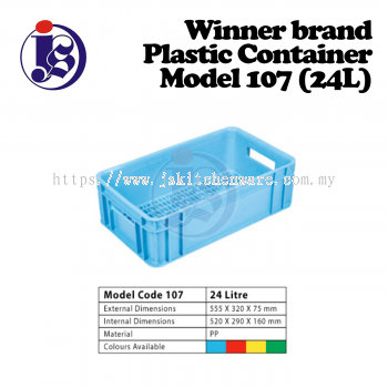 Winner Plastic Container Model 107