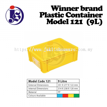 Winner Plastic Container Model 121