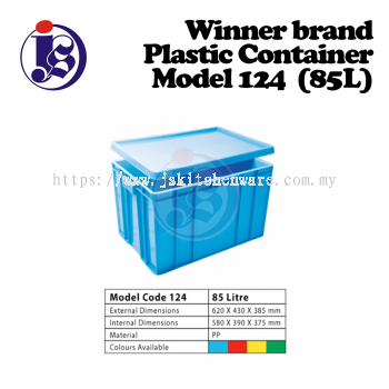 Winner Plastic Container Model 124