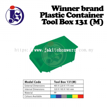 Winner Plastic Container Model 131