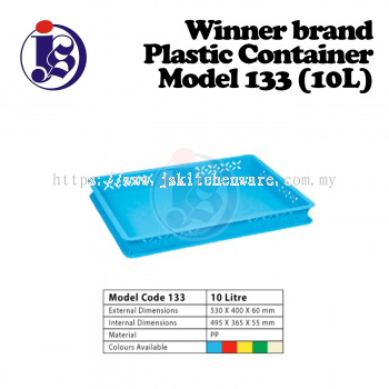 Winner Plastic Container Model 133