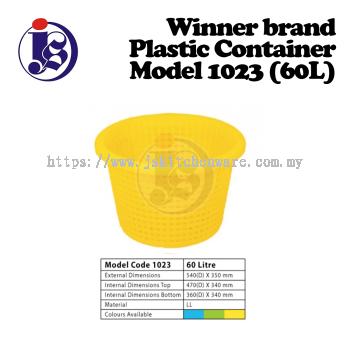 Winner Plastic Container Model 1023
