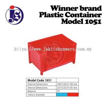 Winner Plastic Container Model 1051