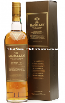 Macallan 'Edition No. 1' Single Malt Whisky