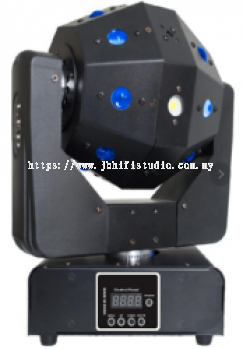 3 in1 Laser Ball RGBW 4 in1 LED + RGB Laser