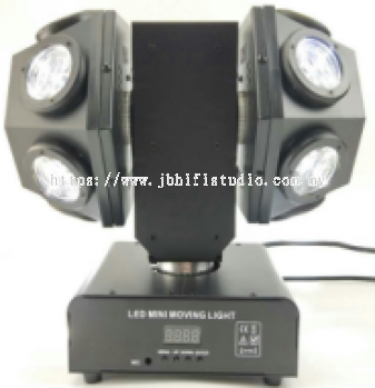 Double Ball LED RGBW 4 in1