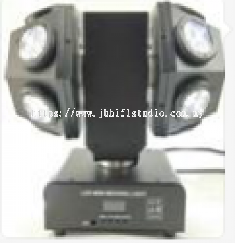 Double Ball LED RGBW 4 in1 with Laser