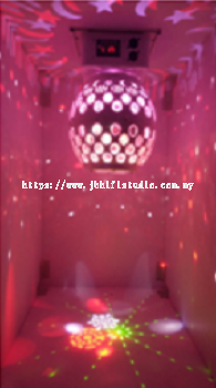 Gobo Ball with Laser