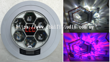 Fire Effect Light RGBW 4 in1 LED