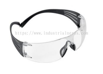 3M SF301AF SecureFit Protective Eyewear With Clear Lens and Frame