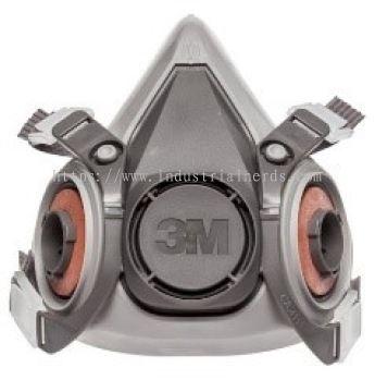 3M 6200 Half Face Double Respirator