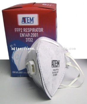 ATEM 3080 N95 Flat-fold Vertical Mask with Valve