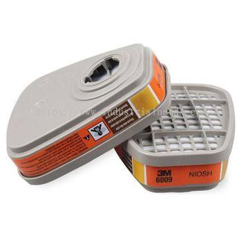 3M 6009S Mercury Vapor / Chlorine / Sulphur Dioxide Cartridge