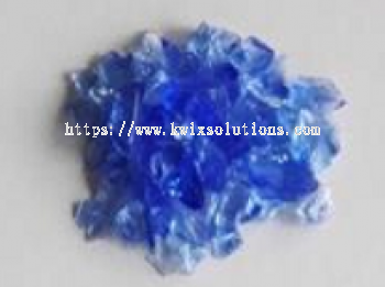 Blue Glass Chips