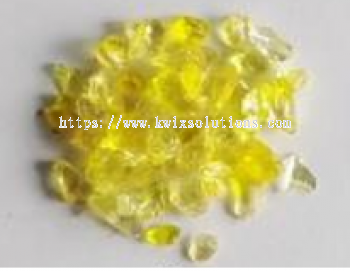 Yellow Glass Chips