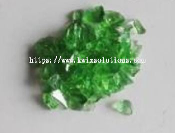 Green Glass Chips