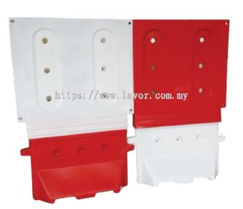 Hoarding Board (Red / White)