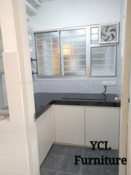 Melamine Kitchen Cabinet D'Cerrum Ecohill