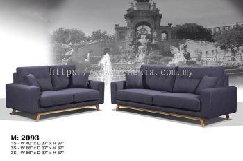 M 2093 Fabric Sofa