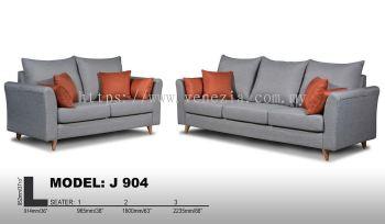 J 904 Fabric Sofa