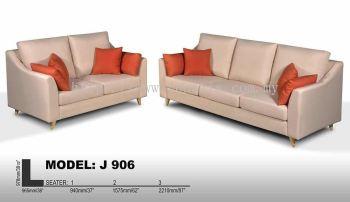 J 906 Fabric Sofa