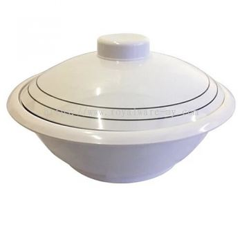 """Deware 10"""" Bowl with Lid (3601A)"""