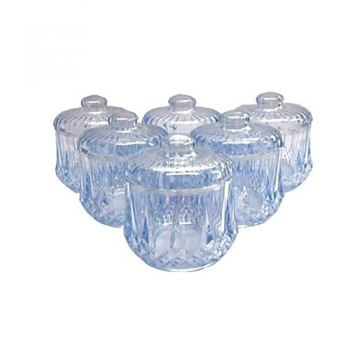 6 pcs Crystel Canister (PS-400-6GB)