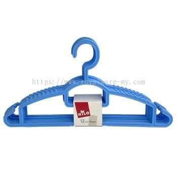 12pcs Clothes Hanger (151/12BK / 151/12R)