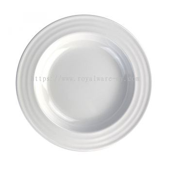 "A5-3209 9"" Ripple Soup Plate"
