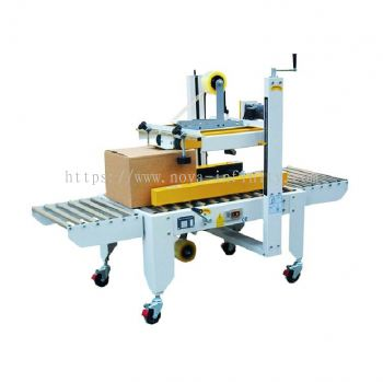 Semi Auto Top And Side Belt Carton Sealer(For Industry Use)