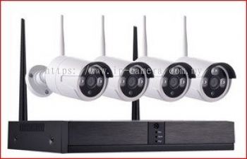4CH & 8CH WIRELESS IP CAMERA(SUPPLIER SELANGOR,SUPLIER KAJANG,SUPLIER KL,SUPLIER SERI KEMBANGAN,SUPPLIER PUTRAJAYA