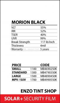 MORION BLACK