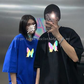 3M BUTTERFLY OVERSIZE REFLECTIVE TEE
