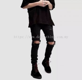 DC HYPE RIPPED JEANS 09