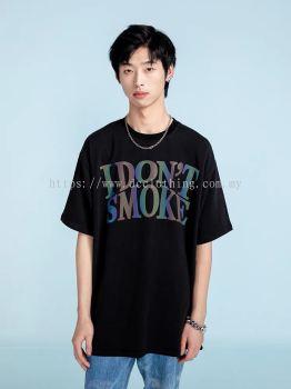 I DON��T SMOKE REFLECTIVE TEE