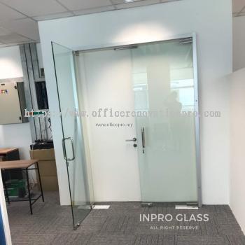 IPTGDC-12 12MM TEMPERED CLEAR GLASS DOOR