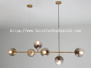 IP-AG ASTRID GOLD CHANDELIER