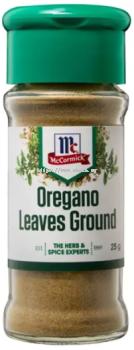 McCormick Oregano Leaves Ground 25g