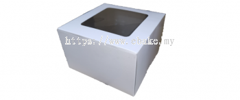 Cake box with window [Please Choose The Size]