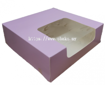 Pink layer cake box [Please Choose The Size]