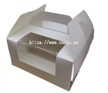Cake Box with window & handle
