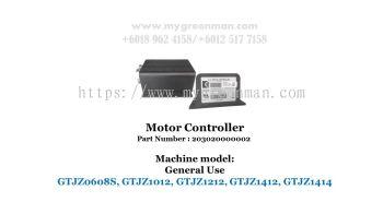 Scissor Lift Spare Part - Motor Controller 203020000002